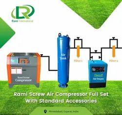 10 HP Screw Air Compressor Direct Driven