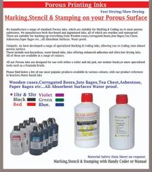 Porous Roller Marking ink Black