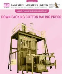 Down Packing Cotton Baling Press