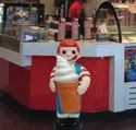 Boy And Girl With Ice Cream Cone