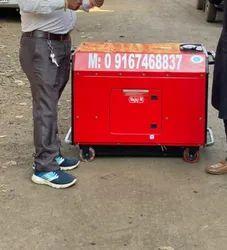 7.5 Kw Bajaj M Soundproof Petrol Portable Generator Set