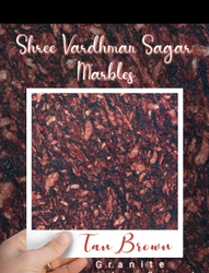 Polished Tan Brown Granite, Flooring, Thickness: 16m