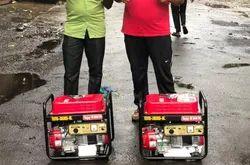 2 Kw Bajaj M Low Noise Petrol Portable Generator Set
