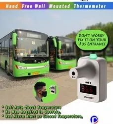 Wall Mount Thermal Scanner For Buses and Vans