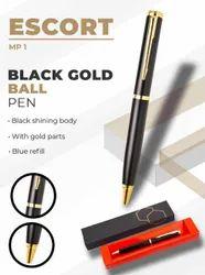 Black Gold Ball Pen