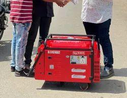 5 Kw Bajaj M Soundproof Petrol Portable Generator Set