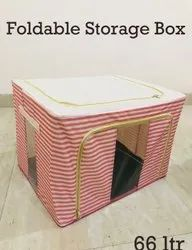 Foldable Storage Box For Clothes