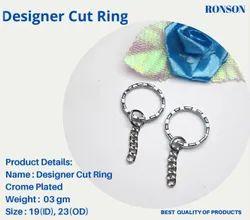 Designer Cut Keyring