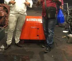 10 Kw Bajaj M Soundproof Petrol Portable Generator Set