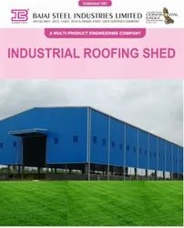 MS Industrial Roofing Shed