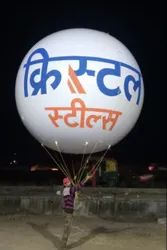PVC Balloon Advertising Agencies, For Promotion Purpose, Size: 10 Ft