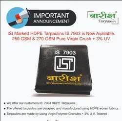Barish 250 GSM Is 7903 Black Tarpaulin