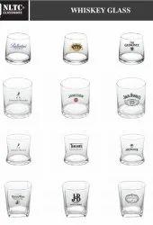 White Promotional Glassware