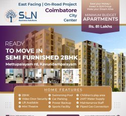 2 Bhk Apartment For Sale In Coimbatore