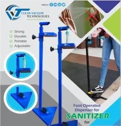 Foot Operated Dispenser Stand