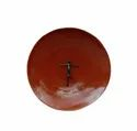 Copper Shield Abstract Human Art