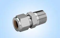 Stainless Steel Double Ferrule Male Connector