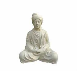 Swami Vivekananda Statue In White Colour
