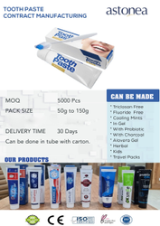 Toothpaste Contract Manufacturing
