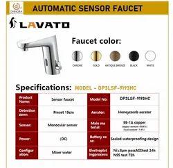 Silver Modern Sensor Tap, For Bathroom Fitting