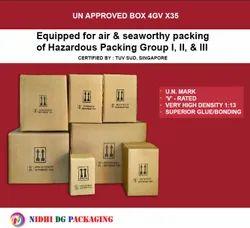 UN Certified Fiberboard Corrugated Boxes