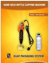 Hand Held Electric Screw Capping Machine Manual Bottle Cap Locking