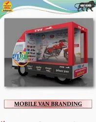Banner Outdoor Mobile Van Branding