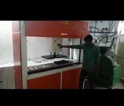 Moveable Head Chappal Making Machine