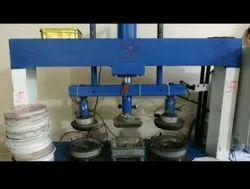 Triple Die Nashta Plate Making Machine