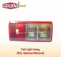 Three Wheeler Tail Light Assembly Bajaj Maxima