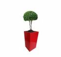 Heighted Red Yellow Planter