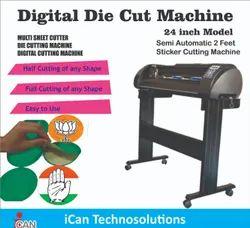 Sticker Half Cutting Machine