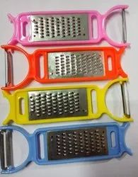 Hand Cheese Grater With Peeler