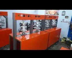 2 Die Areca Leaf Plate Making Machines