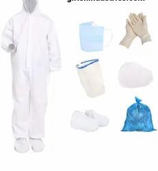 PPE Safety Kit For Full Body Protection Non-Suffocating Comfortable Made Of Sitra Approved