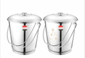 Stainless Steel Bucket / Balti - Laser