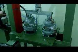 Silver Wrinkle Plate Machine
