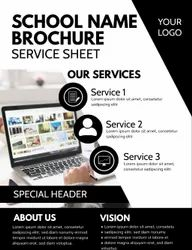 School Brochure Design Work