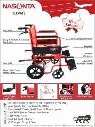 Elevate Folding Wheelchair