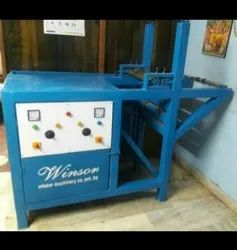 Single Die Roll Automatic Paper Plate Machine