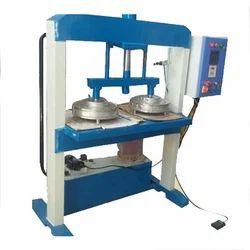 SBI 1000 - 1500 pc/hr Hydraulic Double Die Paper Plate Making Machine, 2