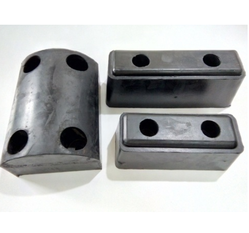 Vulcan Components Black Rubberized Bumpers