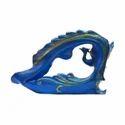 Peacock Shape Center Piece Bucket