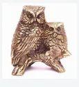 Owl Bird Brass Home Decorative Show Piece