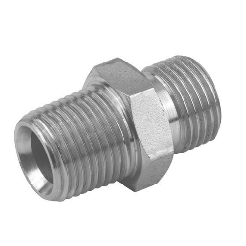 Nascent Stainless Steel Socket Weld Hexagon Nipple Fitting 316