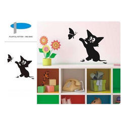 Playful Kitten Wall Decor
