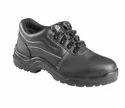 Black Leather Bata Bora Derby L/c Ft Industrial Shoes, Size: 5-11