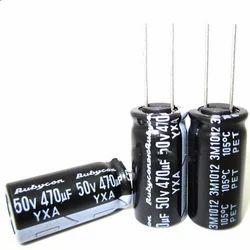 YXA 50V Aluminum Electrolytic Capacitor