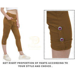 Brown Lycra Pants