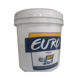 Liquid Euro 2 In 1 WP Waterproof Adhesive, Packaging Type: Bucket